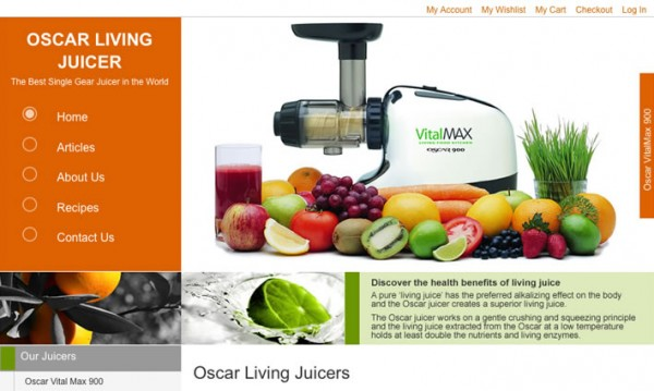 Oscar Juicer Official Website