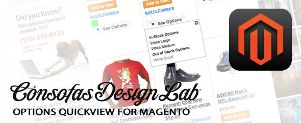 Display Color and Size in Magento